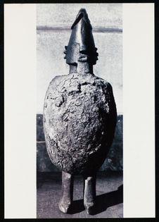 Arts Primitifs, Afrique équatoriale, Mercredi 12 Avril 1989 [statuette...
