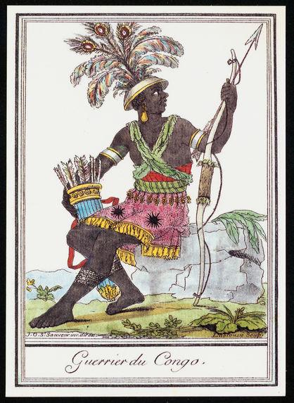 Guerrier du Congo