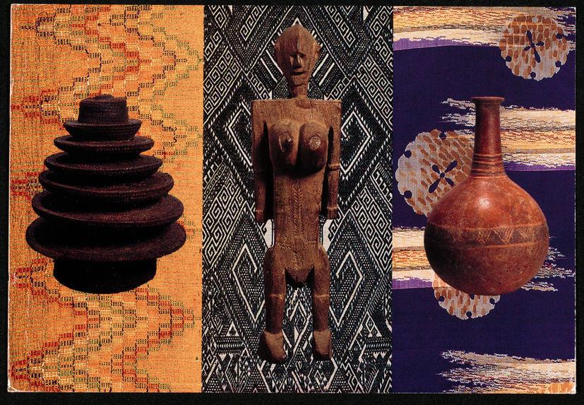 Ethnographic Art in 2 & 3 dimensions