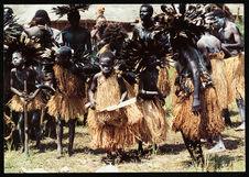 Groupe de danseurs ébanigi