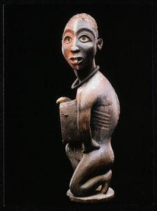 Kôngo/ Vili (Congo). Statuette, nkisi