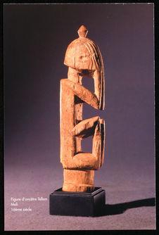 Figure d'ancêtre Tellem. Mali 16ème siècle