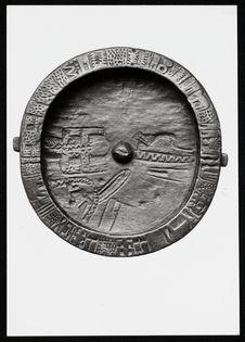 Divining bowl for the detection of witches [bol divinatoire pour la détection...