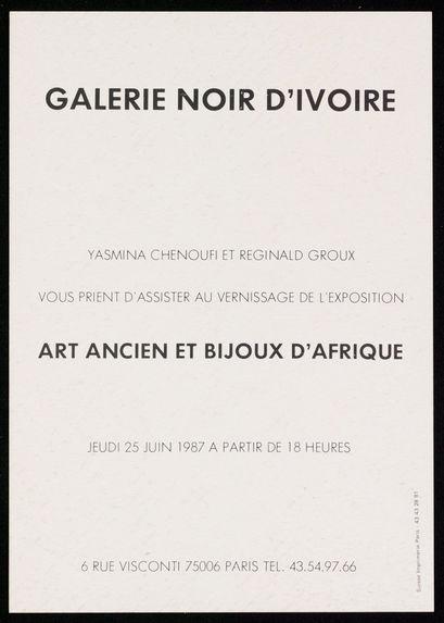 Galerie Noir d'Ivoire