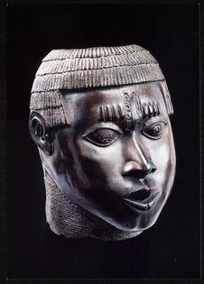 Sculpture du royaume de Bénin