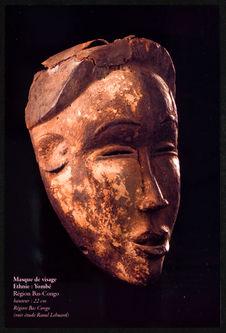 Masque de visage, ethnie : Yombé