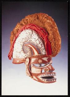 Neu-Irland, Totenmaske [Nouvelle Irlande, masque mortuaire]