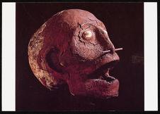 Crâne surmodelé (Mélanésie fin 19eme)