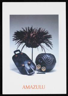 Amazulu, objets ethnographiques d'Afrique du Sud