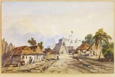 L'ancien Fort hollandais de Chama