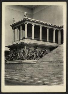 Der Altar von Pergamon von König Eumenes II