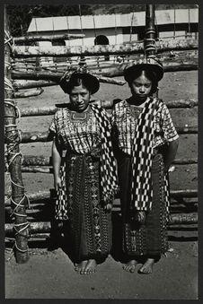 Indiennes Zutujil de Santiago Atitlan