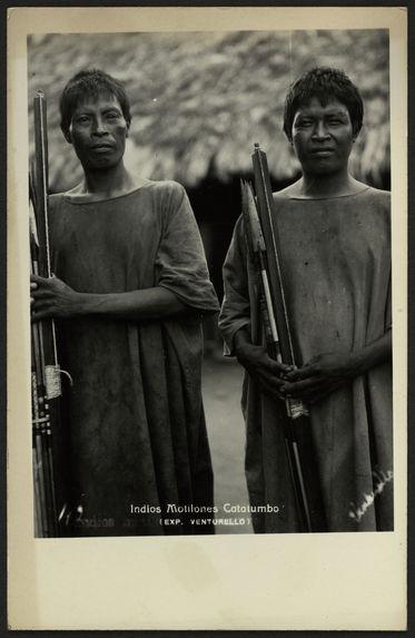 Indios Motilones Catatumbo
