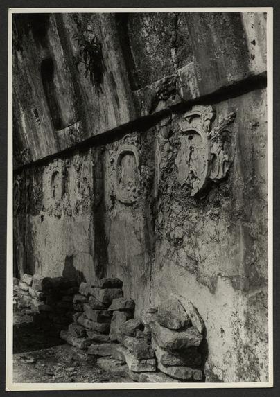 Palenque Palacio, bâtiment A, Galerie des Médaillons