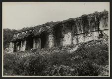 Palenque, Palacio, bâtiment A, façade orientale