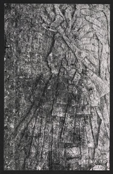 Chincultic, détail de stèle