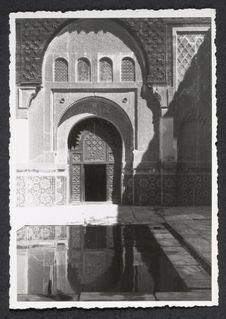 Marrakech, médersa Ben Youssef
