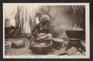 Sénégal, préparation du mil