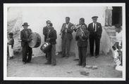 """Pérou, hacienda près de Pachacamac Orchestre """"criollo&quot"""