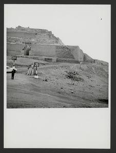 Pachacamac, construction sur le sommet de la colline, temple du Soleil