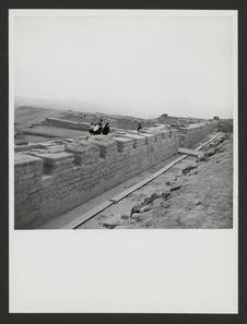 Pachacamac, construction supérieure