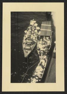 La barque des pèlerins