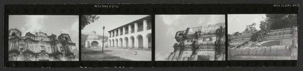 Sans titre [planche-contact de quatre vues concernant la ville de San Cristobal de las Casas]