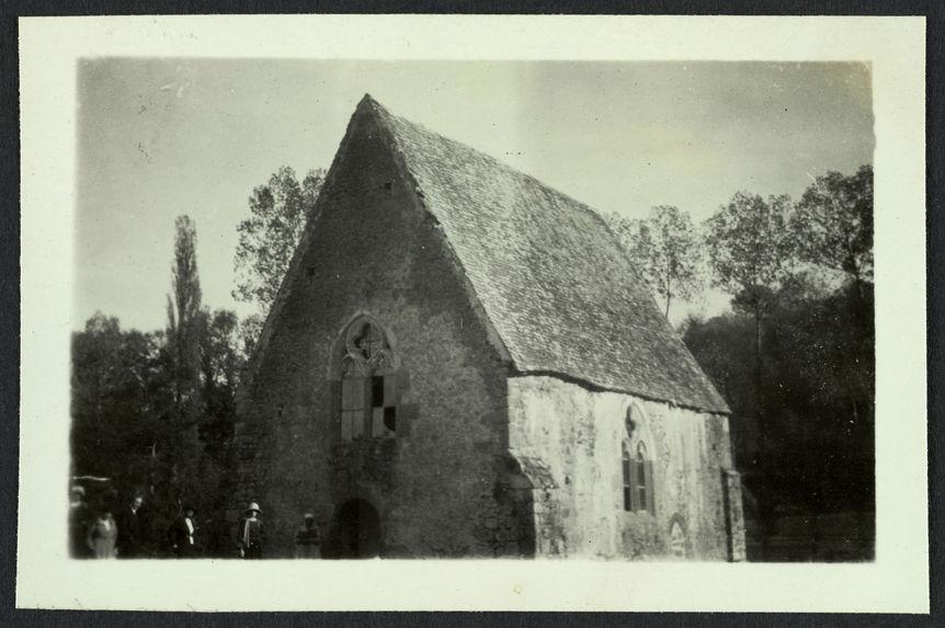 St Céneri, mariage Sylvie [la chapelle]