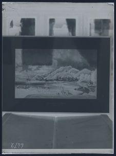 Port d'Amboine, par Piron [tableau]