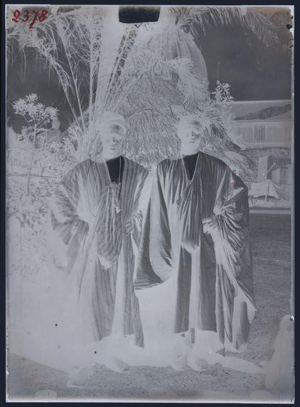 Groupe de deux nègres, Sénégal