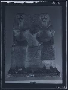 Taï et Naïa, monument égyptien