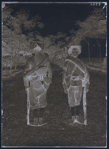 Tirailleurs en tenue de campagne
