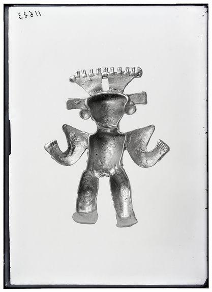 Sans titre [figurine en métal]