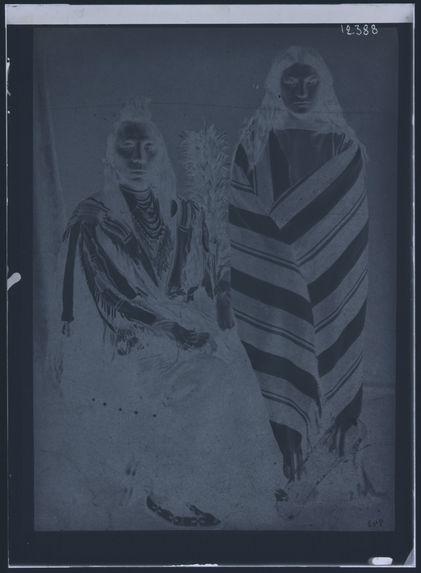 943. Vieil indien Crow et sa femme