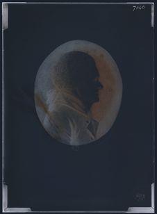 Portrait, médaillon Jefferson