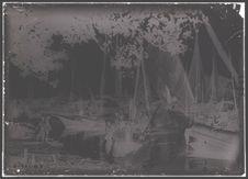 Sampans de pêche