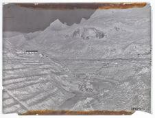 Mines de Tinh Tuc : les gradins d'exploitation