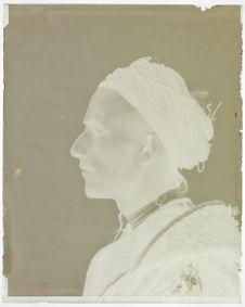 Type du Maroc [Portrait de profil d'un homme]