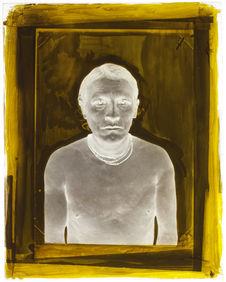 Suriname [Portrait de profil, en buste, d'un homme]