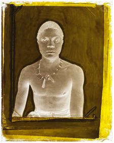 Suriname [portrait de face d'une homme]