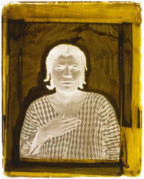 Suriname [Portrait de face, en buste, d'une femme]