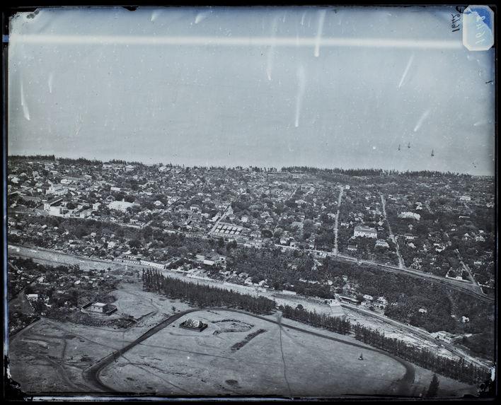 Panorama de la ville de St Denis. Réunion.