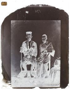 Le roi et la reine de Siam