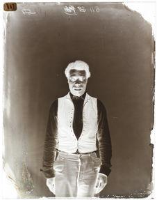 Auguste Langlois [Portrait en pied, de face, d'un homme]