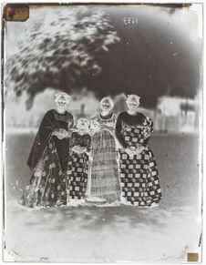 Groupe de femmes malgaches.