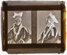 Lapon [Portrait de face et de profil d'un homme]