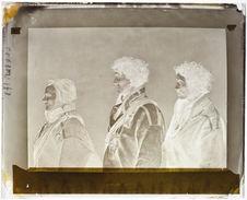Lapon [Portraits d'hommes ; profil]