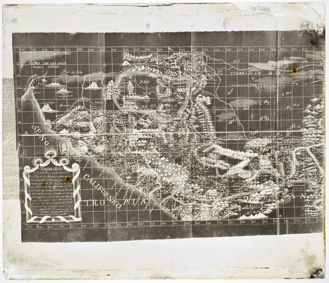Sans titre [Reproduction d'une carte ancienne de la Californie]
