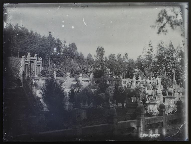 Le tombeau de la mère du maréchal Tang-Ki-Yao