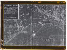 Carte de la côte de la Louisiane - Golfe du Mexique